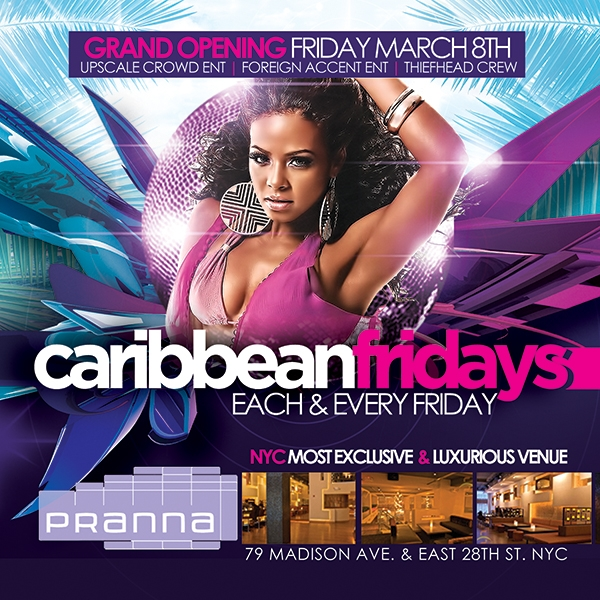 Caribbean Fridays On Mar 08 2013 In New York