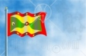 48293-Royalty-Free-RF-Clipart-Illustration-Of-A-Waving-Grenada-Flag-Against-A-Blue-Sky.jpg