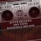 HOT TOPIC DANCEHALL MIX 2018