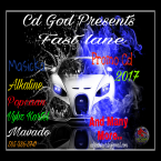 Cd God Presents, Fast Lane Dancehall Mix Cd 2017
