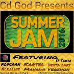 Cd God Summer Jam, Dancehall Mixtape, 2016