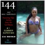 Dj Kimoni JUST DANCEHALL Plus Soca Volume 144.