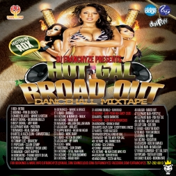 HOT GAL BROAD OUT MIX CD HOSTED BY RDX