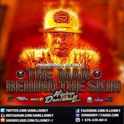 THE MAN BEHIND THE SKIN PROMOTIONAL USE ONLY MIXTAPE