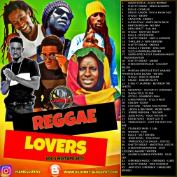 REGGAE LOVERS VOL.5 MIXTAPE 2K17