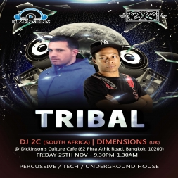 Dimensions live @ TRIBAL NOV 2016