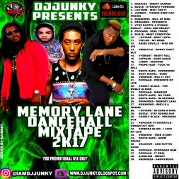 MEMORY LANE DANCEHALL MIXTAPE 2K17