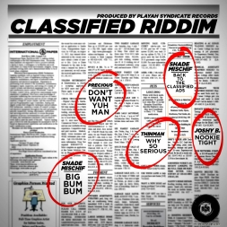 Classified Riddim Jugglin