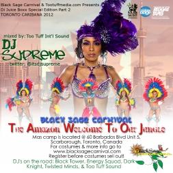Caribana 2012 Black Sage Carnival Promo Mix  2
