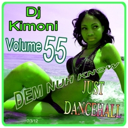 DJ KIMONI JUST DANCEHALL Volume 55
