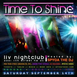 Time To Shine 2013 Promo Mix RAW