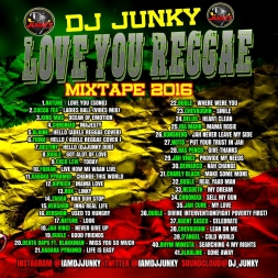 LOVE YOU REGGAE MIXTAPE 2K16
