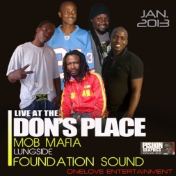 FOUNDATION SOUND ALONGSIDE MOB MAFIA LIVE AT THE DONS PLACE SOUTH AFRICA