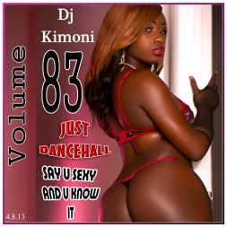 Dj Kimoni JUST DANCEHALL Volume 83      Say she sexy and she know it