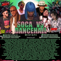 SOCA VS DANCEHALL 2017 MIXTAPE