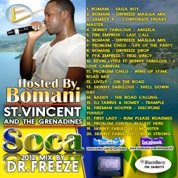 St Vincent and the Grenadines Soca Mix 2012