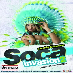 SOCA INVASION 2 powered by Juice Boxx Radio