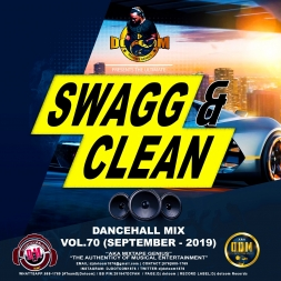 Swagg & Clean Dancehall Mix Vol 70 (September 2019)