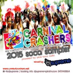 CARNIVALCRASHERS.NET 2015 SOCA SAMPLER