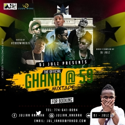 DJ JULZ {{ Ghana @ 59 INDEPENDENCE MIXTAPE }} HIPLIFE - HIGHLIFE MIX 2016