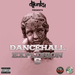 DJ JUNKY PRESENTS  DANCEHALL EXPLOSION VOL 5 MIXTAPE