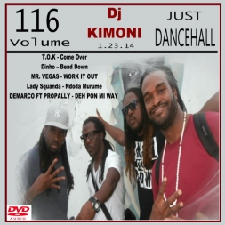 Dj Kimoni JUST DANCEHALL Volume 116  WINE ON SOMETHING