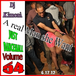 DJ KIMONI JUST DANCEHALL Volume 54