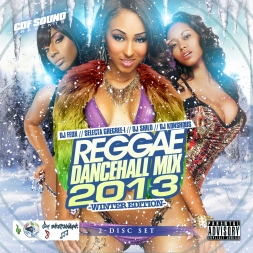 CDF Sound Dancehall 2013 Winter Double Mix Cd
