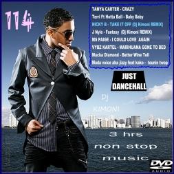 Dj Kimoni JUST DANCEHALL Volume 114  TAKE IT OFF