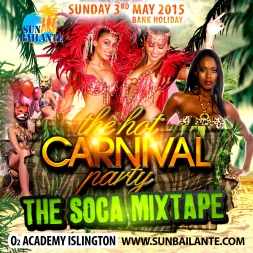 Hot Carnival Soca Mix 2015
