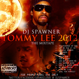GAZA TOMMY LEE 2012 THE MIXTAPE