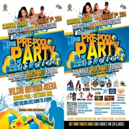 FAMO's CARNIVAL 2014 POOL PARTY WET-FETE Liming Mix