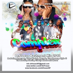 Dr.Freeze 2012 Dancehall / Bashment Mix Call Complex