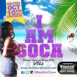 I Am Soca Miami Mix VOL 2