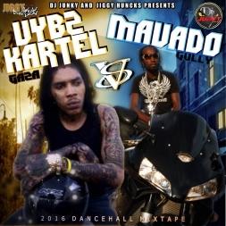 VYBZ KARTEL GAZA VS MAVADO GULLY MIXTAPE 2K16