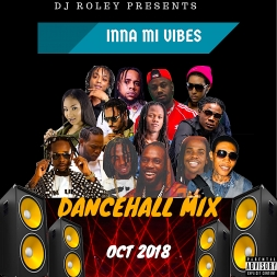 DJ ROLEY-INNA MI VIBES DANCEHALL MIX OCT 2018