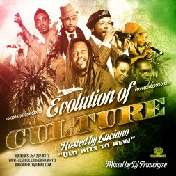 EVOLUTION OF CULTURE HOSTED BY LUCIANO
