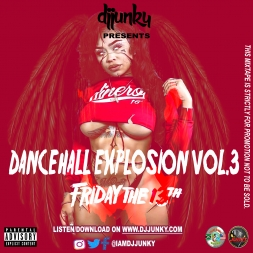 DANCEHALL EXPLOSION VOL 3 FRIDAY THE 13TH MIXTAPE