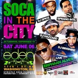 Soca In The City Promo Mix 2015