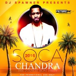 2016 SOCA CHANDRA PRE-J'OUVERT BOAT CRUISE