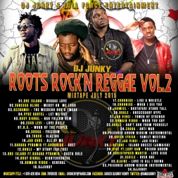 ROOTS ROCK N REGGAE VOL.2 MIXTAPE JULY2015