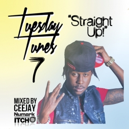STRAIGHT UP  Dancehall Mix JULY 2K12