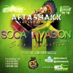 AftaShakk Soca Invasion vol 2    Soca Addiction 2013