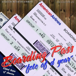 BOARDING PASS fete of d year