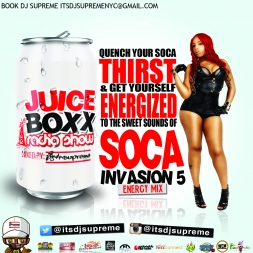 Soca Invasion 5 Energy Mix