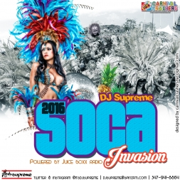 JUICE BOXX RADIO 2016 SOCA INVASION