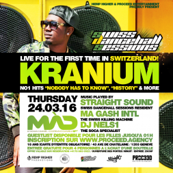 Kranium Promomix 24.03.16 at Mad Club Geneva