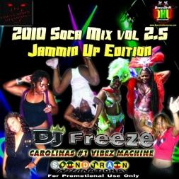 FREEZY VIBEZ RADIO - SOCA 2010 MIX [JAMMIN UP EDITION]