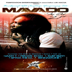 Mavado Live at DC Star - Fri. Oct 21st (Promo Mix)