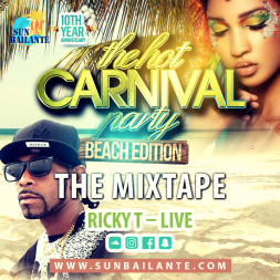 Hot Carnival Party - Beach Edition - Ricky T Special